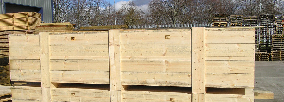 Timber Packing Cases